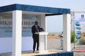 吉布提大马角工业区油码头项目举行开工仪式