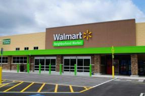 沃尔玛在中国大型超市行业的排名从第二位下滑至第四位